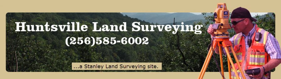 Huntsville Land Surveying header image